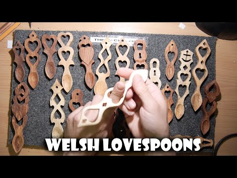 Welsh Lovespoons