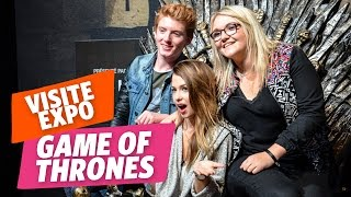 ✿ Game Of Thrones : Marie visite l'exposition avec Lola et Elliott de Cover Garden ✿
