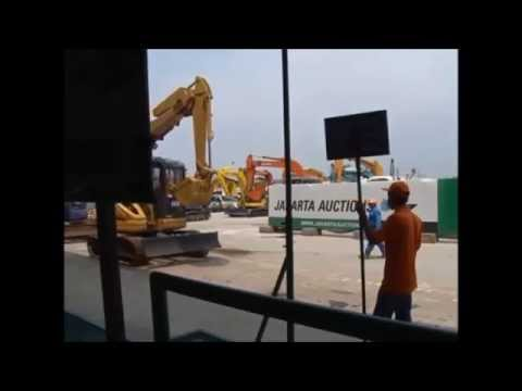 Jakarta Auctions - Parade excavator