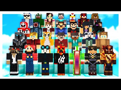GUESS THE MINECRAFT YOUTUBER CHALLENGE! with PrestonPlayz & UnspeakableGaming