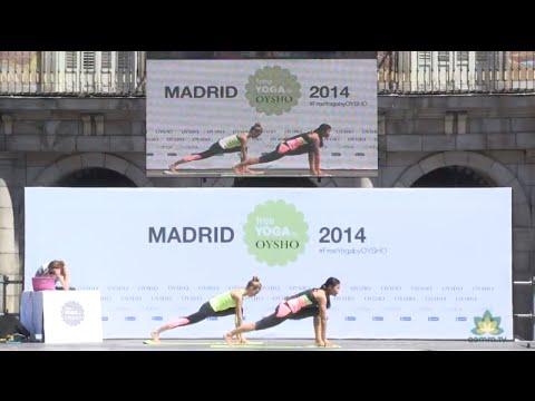 1h15min clase de yoga online: Free Yoga Madrid 2014