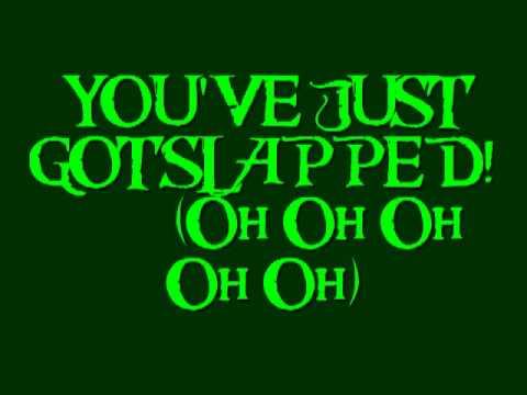 Marshall + Barney.. You just got slapped aka Slap song + Lyrics. How i met your mother.