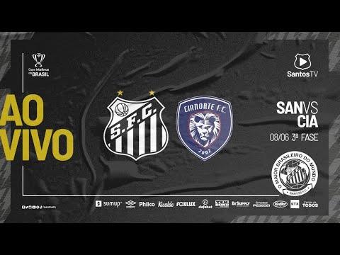 🔴 AO VIVO: SANTOS 1 X 0 CIANORTE | COPA DO BRASIL (08/06/21)