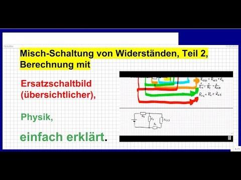 2.10.1.1 Parallelschaltung Widerstand und Kondensator from YouTube · Duration:  10 minutes 51 seconds