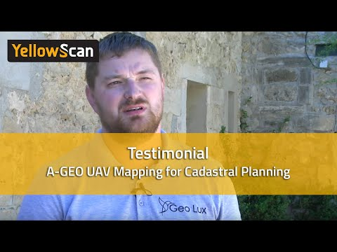 YellowScan LIDAR for Drone 2016 - UAV Mapping for cadastral planning