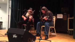 Flop Eared Mule. Ray Curbow with Steve Scott