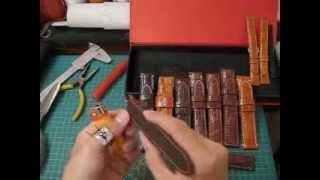 Panerai straps review - genuine crocodile - hand made . ( sale )