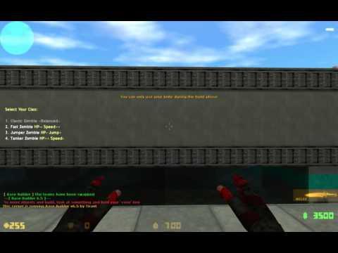 Counter-Strike 1.6: Zombie BaseBuilder Gameplay #9