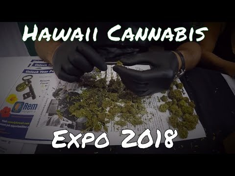 Hawaii Cannabis Expo 2018/// CBD Products---Medicine For and By the People