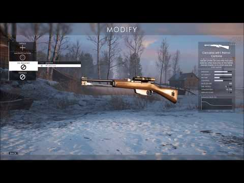 "Battlefield 1 ""NEW CTE WEAPONS Silenced Sniper, Etc"""
