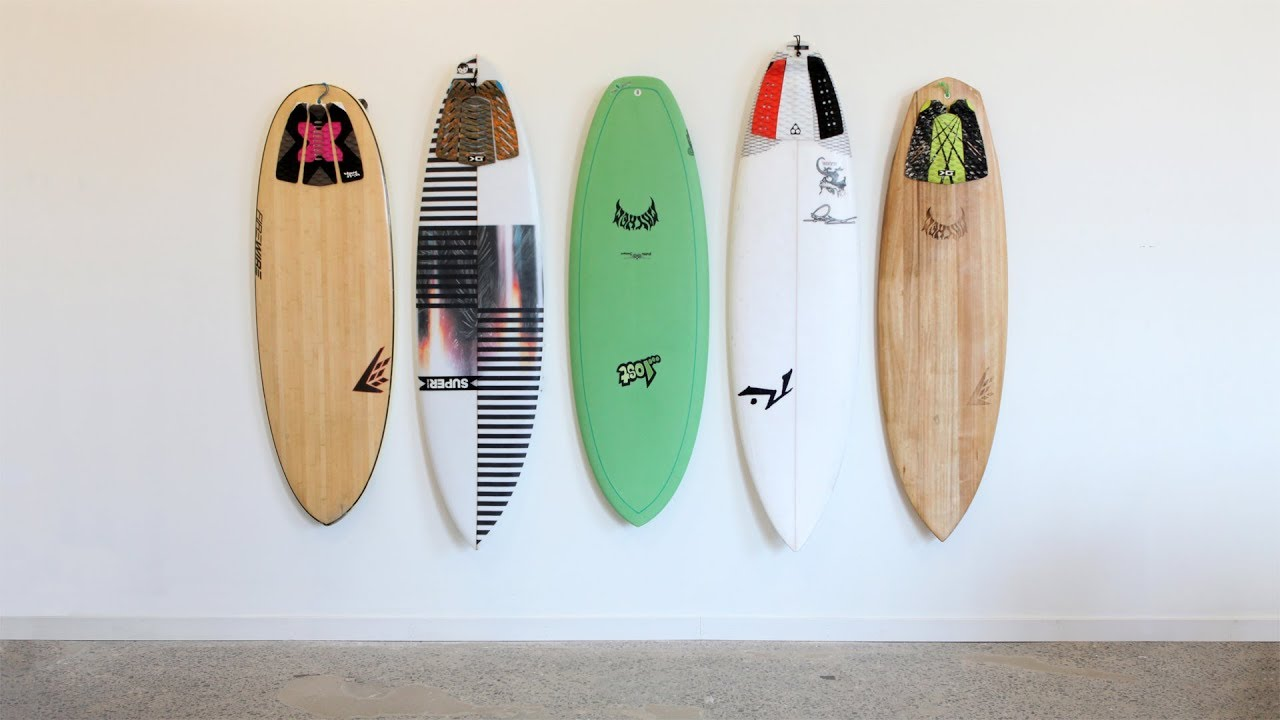 How To Mount Your Surfboard On A Wall Vertically