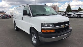 2018 Chevrolet Express Cargo Van Carson City, Reno, Yerington, Northern Nevada, Elko, NV 18-0588