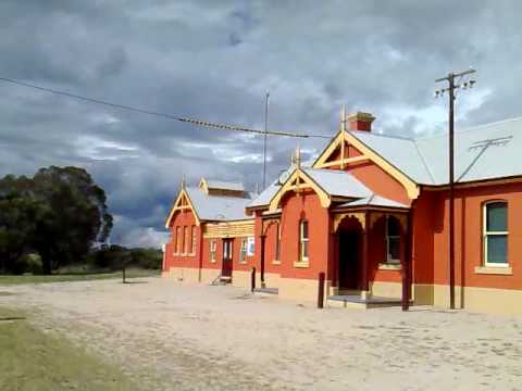 Deepwater Railway Station. Incredible. Have a look at the painting of the Railway Building