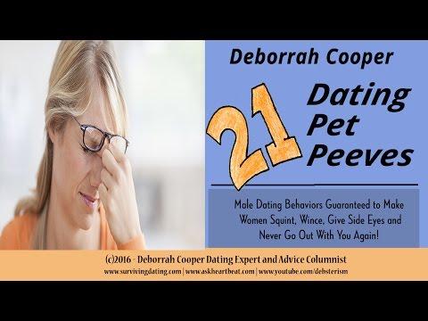 Women's Top 21 Dating Pet Peeves | Deborrah Cooper