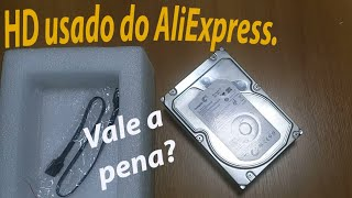 Comprei um HD interno de 2TB do AliExpress. Vale a pena? Unboxing