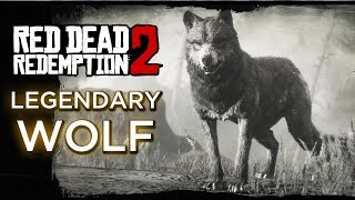 Red Dead Redemption 2 - Legendary Wolf