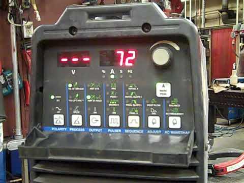 GTAW Carbon Steel Setup Video
