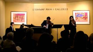 Shostakovich Dances for Two Violins, Prelude, Waltz, Polka