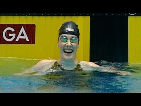 Missy Franklin sets new World Record - from Universal Sports