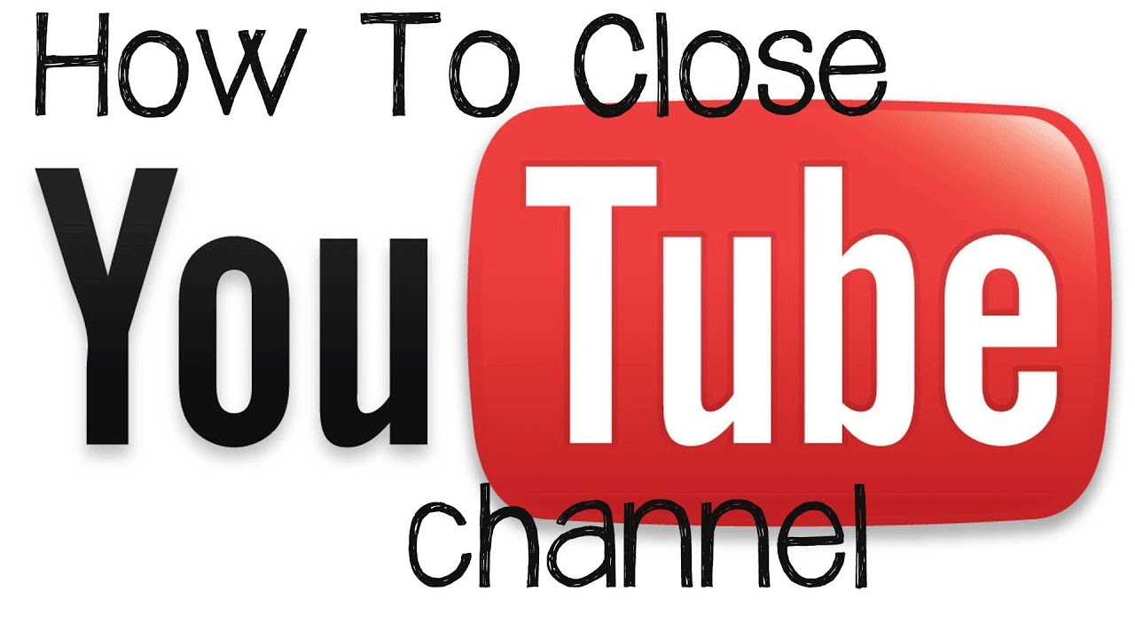 9943863c255e Youtube Tutorial - How To Delete or Close A Youtube Channel - YouTube