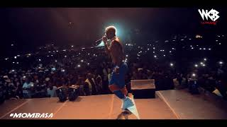 Harmonize live Performance in (MOMBASA) Part 2