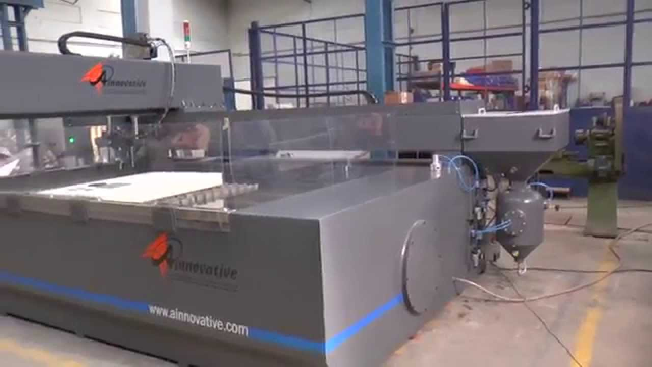CNC Water Jet Cutting Machine By A Innovative ...