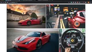 React Javascript Image Gallery Tutorial Video - Part 2