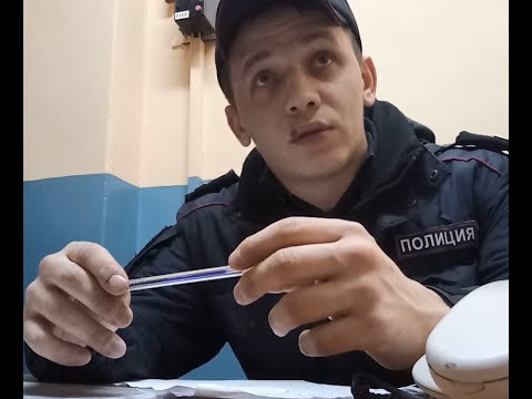 Сержант Майоров на Курской - проверка документов...