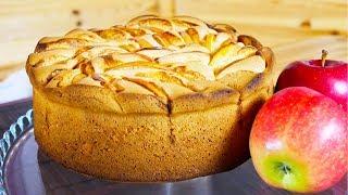 Шарлотка | Простой яблочный пирог