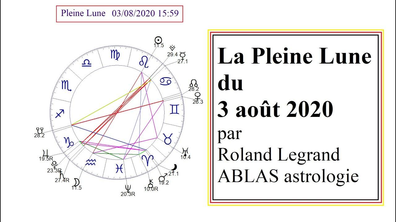 La Pleine Lune du 3 août 2020 - Roland Legrand