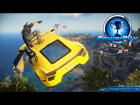 Just Cause 3 - All Daredevil Stunt Jump Locations (Consummate Daredevil Trophy / Achievement Guide)