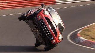 MINI Cooper Around the Nordschleife on two wheels / NEW Nürburgring record!