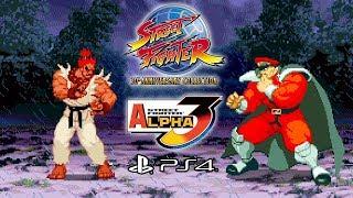 Street Fighter Alpha 3 (PS4) Arcade - SF 30th Anniversary Collection @ 1080p (60ᶠᵖˢ) HD ✔