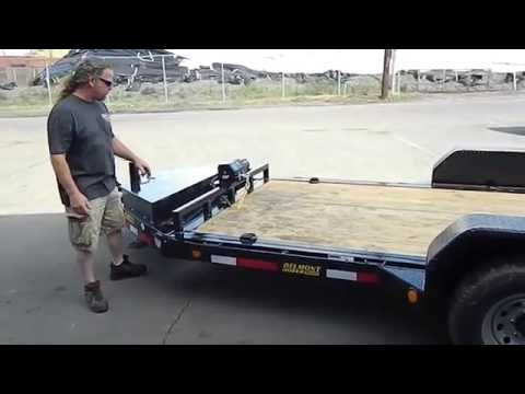 Belmont Tilt Deck Equipment Trailer