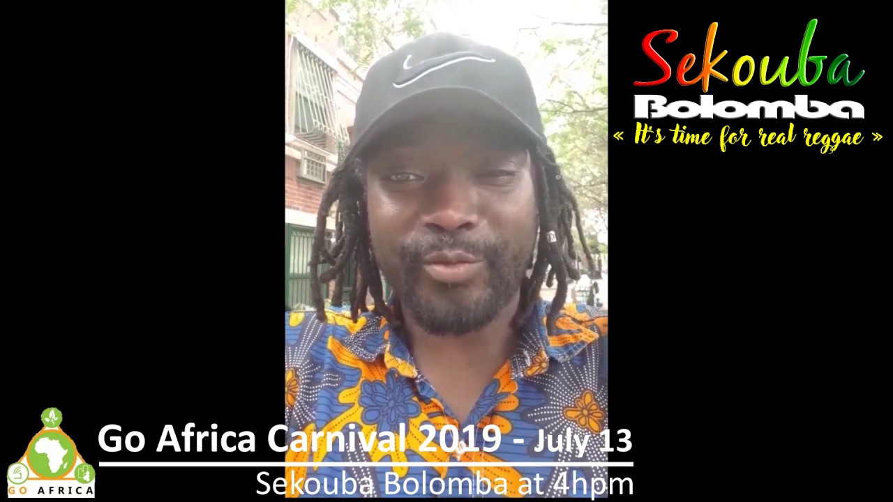 Sekouba Bolomba - Go Africa Carnival 2019 - July 13 at 4hpm Harlem NYC