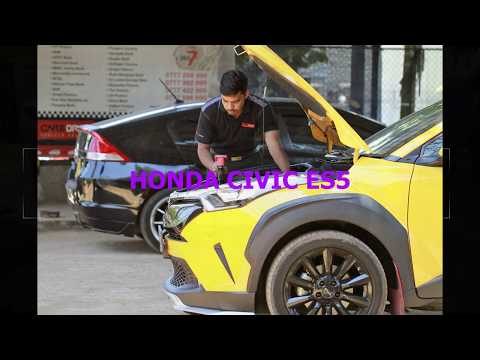 Honda Civic ES5 Chassis Number & Engine Number Location