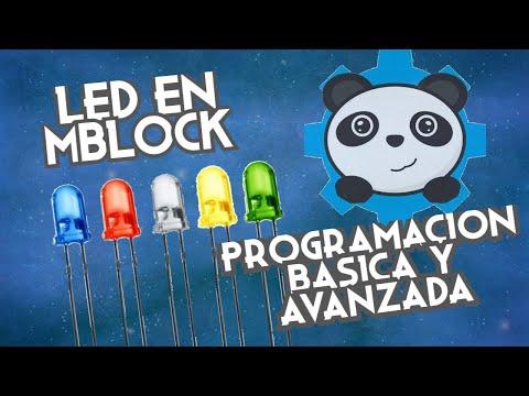 Arduino en mBlock 1: LED. Programación Básica y Avanzada