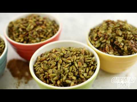 How to cook pumpkin seeds to eat