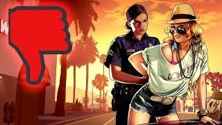Die 3 schlimmsten Dinge an GTA 5 für PS4 und Xbox One - Das gefällt uns nicht an Grand Theft Auto 5