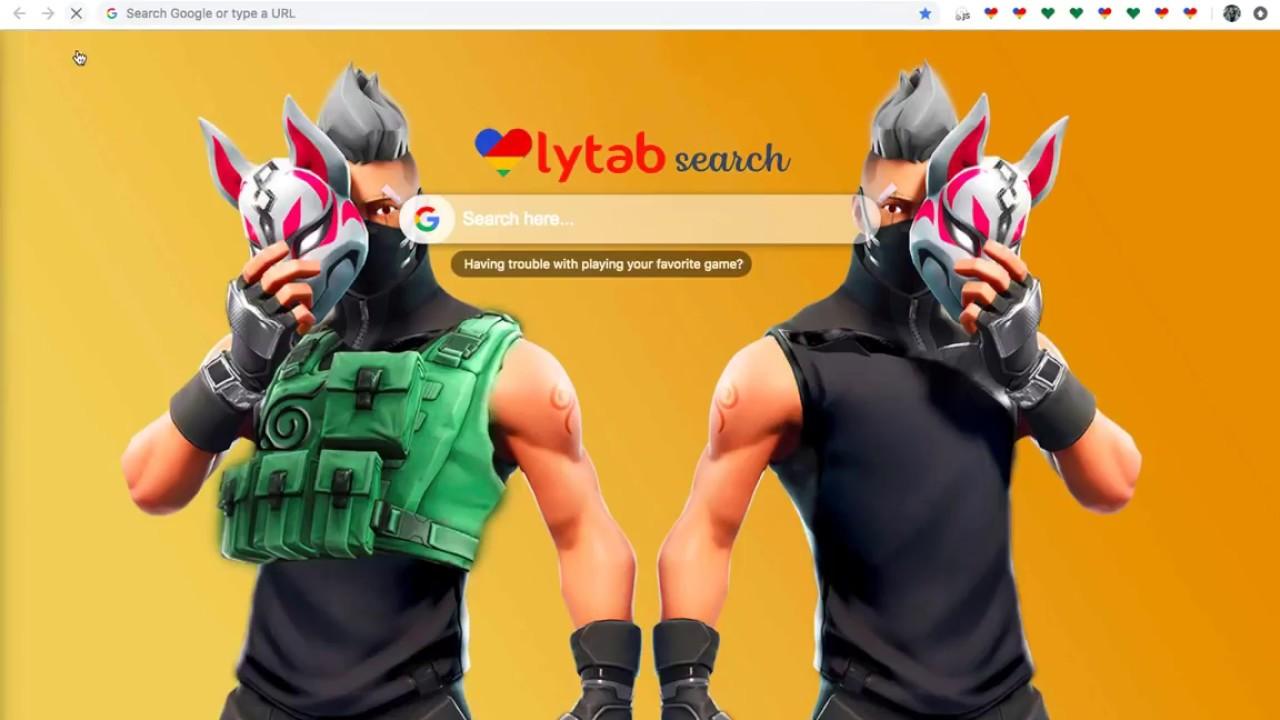 Fortnite Skin Wallpaper Hd New Tab Backgrounds Youtube