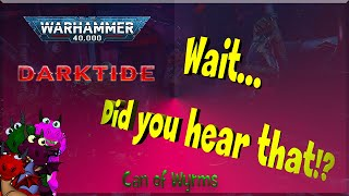 Warning! You Can't Unhear This | Warhammer 40k | Darktide Trailer Reaction