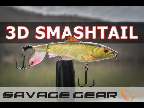 Savage Gear 3D Smashtail и други повърхностни примамки за риболов на щука