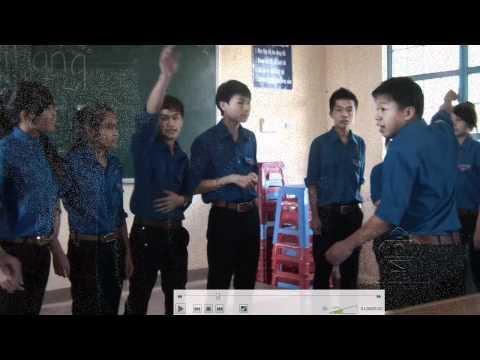 clip dự thi của lớp 12b5 THPT chu văn an lâm đồng
