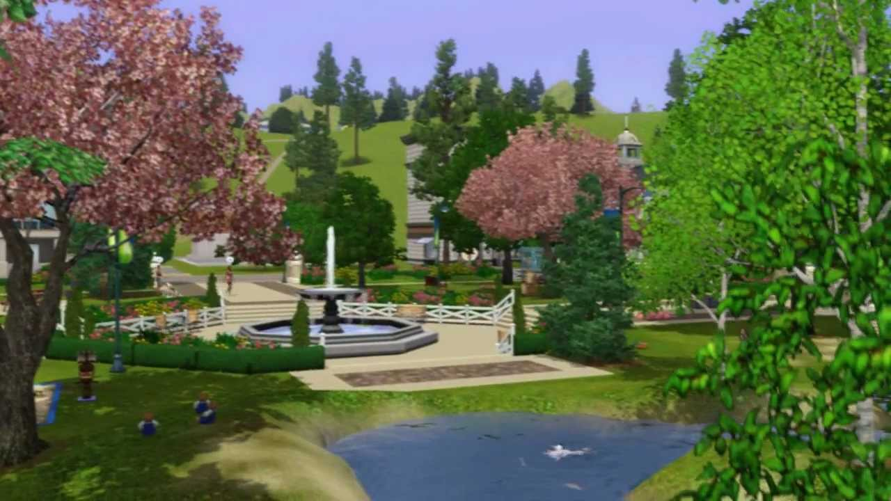 the sims 3 serenity isle a downloadable world for the. Black Bedroom Furniture Sets. Home Design Ideas