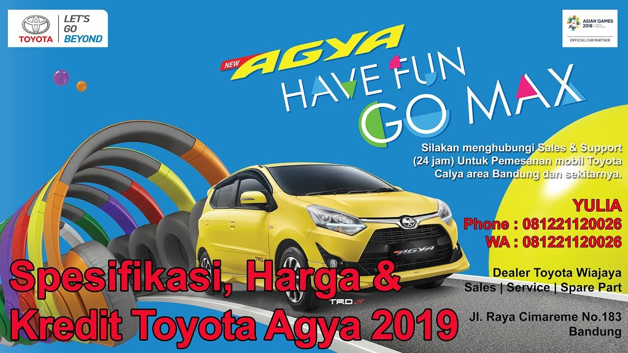 Kelebihan Harga Kredit Toyota Agya 2018 Murah Berkualitas