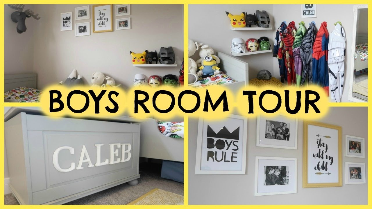 BOYS ROOM TOUR, STORAGE & FENG SHUI FOR KIDS ROOMS - YouTube