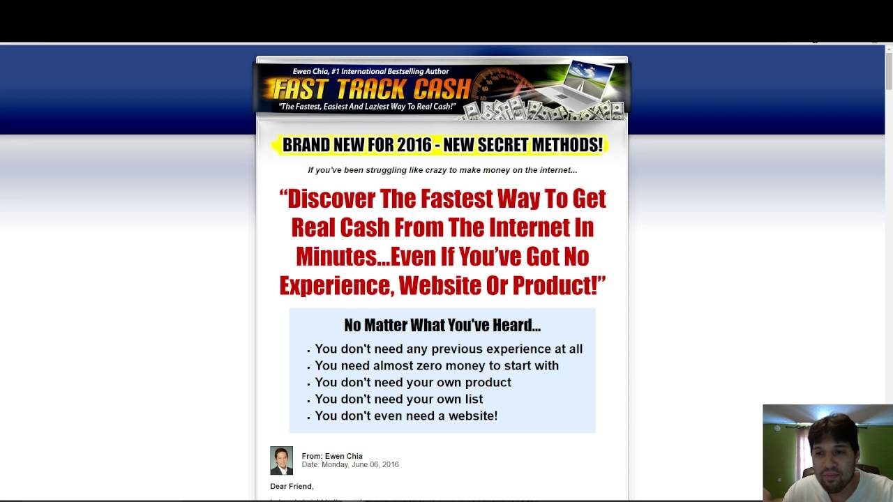 fast track cash a scam fast track cash review 2017 youtube