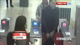 Nine News Sydney - Cracking down on CityRail fare evaders (4/6/2013)
