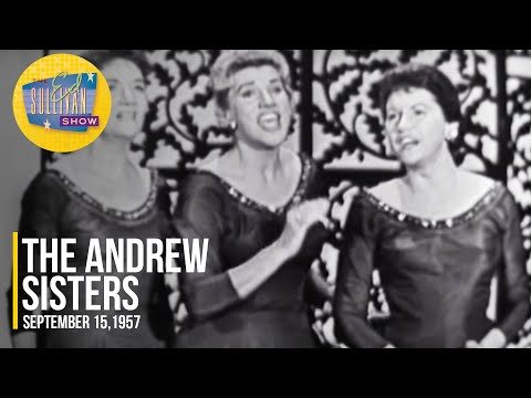 """The Andrew Sisters """"Down In The Valley"""" on The Ed Sullivan Show"""
