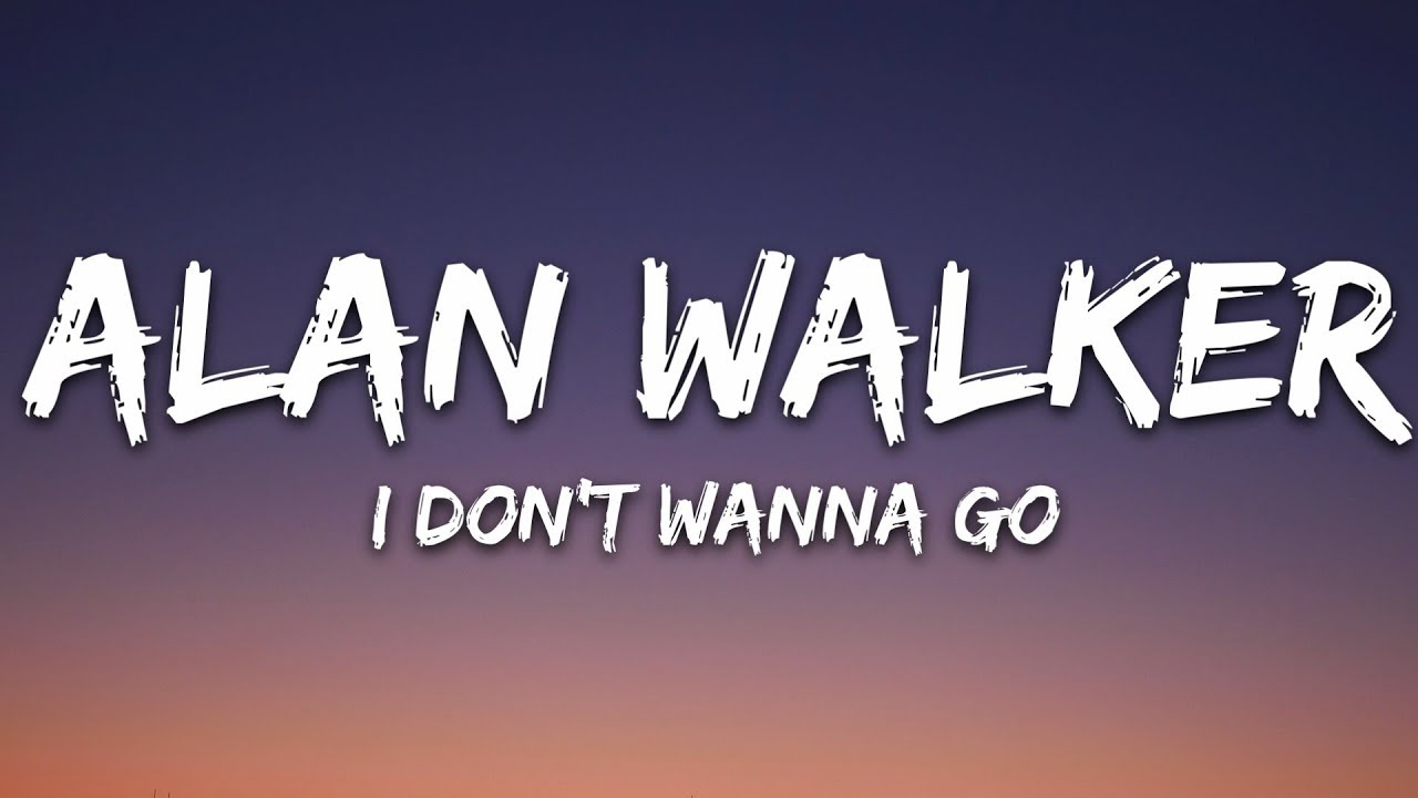 Alan Walker - I Don't Wanna Go (Lyrics) ft  Julie Bergan